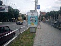 Ситилайт №145927 в городе Полтава (Полтавская область), размещение наружной рекламы, IDMedia-аренда по самым низким ценам!
