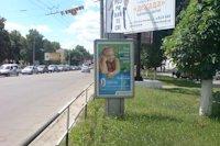Ситилайт №145933 в городе Полтава (Полтавская область), размещение наружной рекламы, IDMedia-аренда по самым низким ценам!