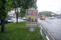 Ситилайт №145934 в городе Полтава (Полтавская область), размещение наружной рекламы, IDMedia-аренда по самым низким ценам!