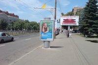 Ситилайт №145944 в городе Полтава (Полтавская область), размещение наружной рекламы, IDMedia-аренда по самым низким ценам!
