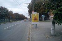 Ситилайт №145948 в городе Полтава (Полтавская область), размещение наружной рекламы, IDMedia-аренда по самым низким ценам!