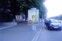 Ситилайт №145953 в городе Полтава (Полтавская область), размещение наружной рекламы, IDMedia-аренда по самым низким ценам!