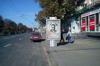 Ситилайт №145956 в городе Полтава (Полтавская область), размещение наружной рекламы, IDMedia-аренда по самым низким ценам!