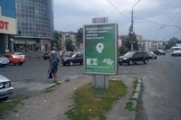 Ситилайт №145969 в городе Полтава (Полтавская область), размещение наружной рекламы, IDMedia-аренда по самым низким ценам!