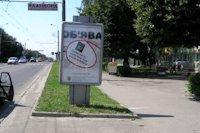 Ситилайт №146033 в городе Ровно (Ровенская область), размещение наружной рекламы, IDMedia-аренда по самым низким ценам!