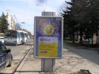 Ситилайт №146037 в городе Ровно (Ровенская область), размещение наружной рекламы, IDMedia-аренда по самым низким ценам!