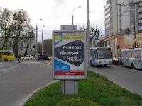 Ситилайт №146044 в городе Ровно (Ровенская область), размещение наружной рекламы, IDMedia-аренда по самым низким ценам!