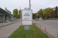 Ситилайт №146159 в городе Тернополь (Тернопольская область), размещение наружной рекламы, IDMedia-аренда по самым низким ценам!