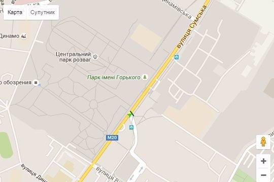 IDMedia Арендовать и разместить Бэклайт в городе Харьков (Харьковская область) №146465 схема