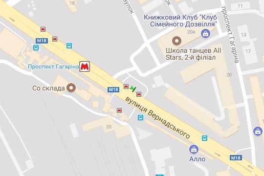 IDMedia Арендовать и разместить Бэклайт в городе Харьков (Харьковская область) №146739 схема