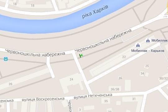 IDMedia Арендовать и разместить Бэклайт в городе Харьков (Харьковская область) №146759 схема