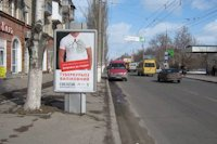 Ситилайт №147126 в городе Херсон (Херсонская область), размещение наружной рекламы, IDMedia-аренда по самым низким ценам!