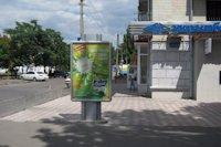 Ситилайт №147129 в городе Херсон (Херсонская область), размещение наружной рекламы, IDMedia-аренда по самым низким ценам!