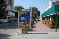 Ситилайт №147131 в городе Херсон (Херсонская область), размещение наружной рекламы, IDMedia-аренда по самым низким ценам!