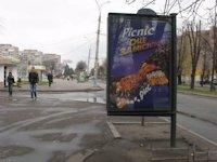 Ситилайт №147233 в городе Черкассы (Черкасская область), размещение наружной рекламы, IDMedia-аренда по самым низким ценам!