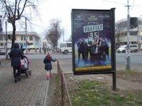Ситилайт №147253 в городе Черкассы (Черкасская область), размещение наружной рекламы, IDMedia-аренда по самым низким ценам!