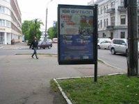 Ситилайт №147255 в городе Черкассы (Черкасская область), размещение наружной рекламы, IDMedia-аренда по самым низким ценам!