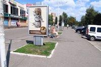 Ситилайт №147278 в городе Черкассы (Черкасская область), размещение наружной рекламы, IDMedia-аренда по самым низким ценам!