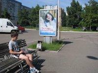 Ситилайт №147280 в городе Черкассы (Черкасская область), размещение наружной рекламы, IDMedia-аренда по самым низким ценам!