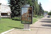 Ситилайт №147330 в городе Черновцы (Черновицкая область), размещение наружной рекламы, IDMedia-аренда по самым низким ценам!