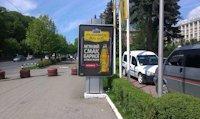 Ситилайт №147331 в городе Черновцы (Черновицкая область), размещение наружной рекламы, IDMedia-аренда по самым низким ценам!