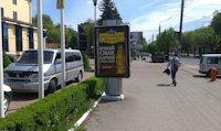 Ситилайт №147332 в городе Черновцы (Черновицкая область), размещение наружной рекламы, IDMedia-аренда по самым низким ценам!