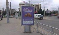 Ситилайт №147341 в городе Черновцы (Черновицкая область), размещение наружной рекламы, IDMedia-аренда по самым низким ценам!