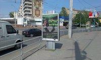 Ситилайт №147342 в городе Черновцы (Черновицкая область), размещение наружной рекламы, IDMedia-аренда по самым низким ценам!