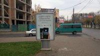 Ситилайт №147345 в городе Черновцы (Черновицкая область), размещение наружной рекламы, IDMedia-аренда по самым низким ценам!