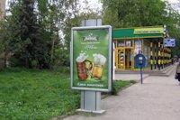Ситилайт №147347 в городе Черновцы (Черновицкая область), размещение наружной рекламы, IDMedia-аренда по самым низким ценам!