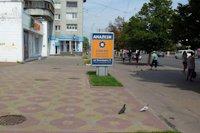 Ситилайт №147368 в городе Чернигов (Черниговская область), размещение наружной рекламы, IDMedia-аренда по самым низким ценам!