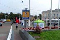 Ситилайт №147380 в городе Чернигов (Черниговская область), размещение наружной рекламы, IDMedia-аренда по самым низким ценам!