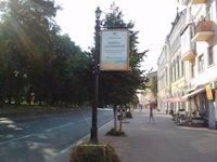 Ситилайт №147382 в городе Чернигов (Черниговская область), размещение наружной рекламы, IDMedia-аренда по самым низким ценам!