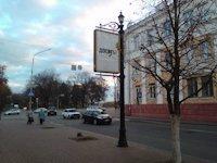 Ситилайт №147383 в городе Чернигов (Черниговская область), размещение наружной рекламы, IDMedia-аренда по самым низким ценам!
