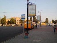 Ситилайт №147400 в городе Чернигов (Черниговская область), размещение наружной рекламы, IDMedia-аренда по самым низким ценам!