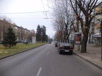 Тумба №148953 в городе Днепр (Днепропетровская область), размещение наружной рекламы, IDMedia-аренда по самым низким ценам!