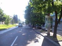Тумба №148954 в городе Днепр (Днепропетровская область), размещение наружной рекламы, IDMedia-аренда по самым низким ценам!