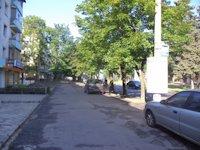 Тумба №148955 в городе Днепр (Днепропетровская область), размещение наружной рекламы, IDMedia-аренда по самым низким ценам!