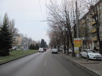 Тумба №148956 в городе Днепр (Днепропетровская область), размещение наружной рекламы, IDMedia-аренда по самым низким ценам!