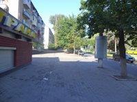 Тумба №148967 в городе Днепр (Днепропетровская область), размещение наружной рекламы, IDMedia-аренда по самым низким ценам!