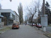 Тумба №148974 в городе Днепр (Днепропетровская область), размещение наружной рекламы, IDMedia-аренда по самым низким ценам!