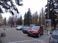 Тумба №148985 в городе Днепр (Днепропетровская область), размещение наружной рекламы, IDMedia-аренда по самым низким ценам!