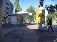 Тумба №148987 в городе Днепр (Днепропетровская область), размещение наружной рекламы, IDMedia-аренда по самым низким ценам!
