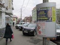 Тумба №149387 в городе Днепр (Днепропетровская область), размещение наружной рекламы, IDMedia-аренда по самым низким ценам!