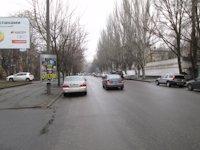 Тумба №149388 в городе Днепр (Днепропетровская область), размещение наружной рекламы, IDMedia-аренда по самым низким ценам!