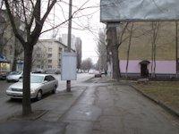 Тумба №149389 в городе Днепр (Днепропетровская область), размещение наружной рекламы, IDMedia-аренда по самым низким ценам!