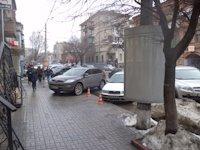 Тумба №149391 в городе Днепр (Днепропетровская область), размещение наружной рекламы, IDMedia-аренда по самым низким ценам!