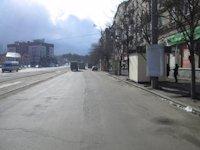 Тумба №149397 в городе Днепр (Днепропетровская область), размещение наружной рекламы, IDMedia-аренда по самым низким ценам!