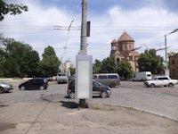 Тумба №149399 в городе Днепр (Днепропетровская область), размещение наружной рекламы, IDMedia-аренда по самым низким ценам!