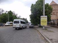 Тумба №149401 в городе Днепр (Днепропетровская область), размещение наружной рекламы, IDMedia-аренда по самым низким ценам!